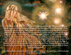 Circle of All Nations Prophecy of the Seven Fires