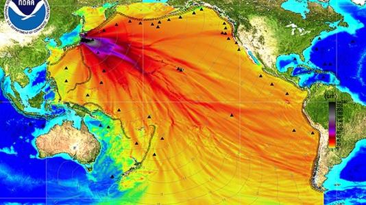 Fukushima Radioactivity Fallout maps